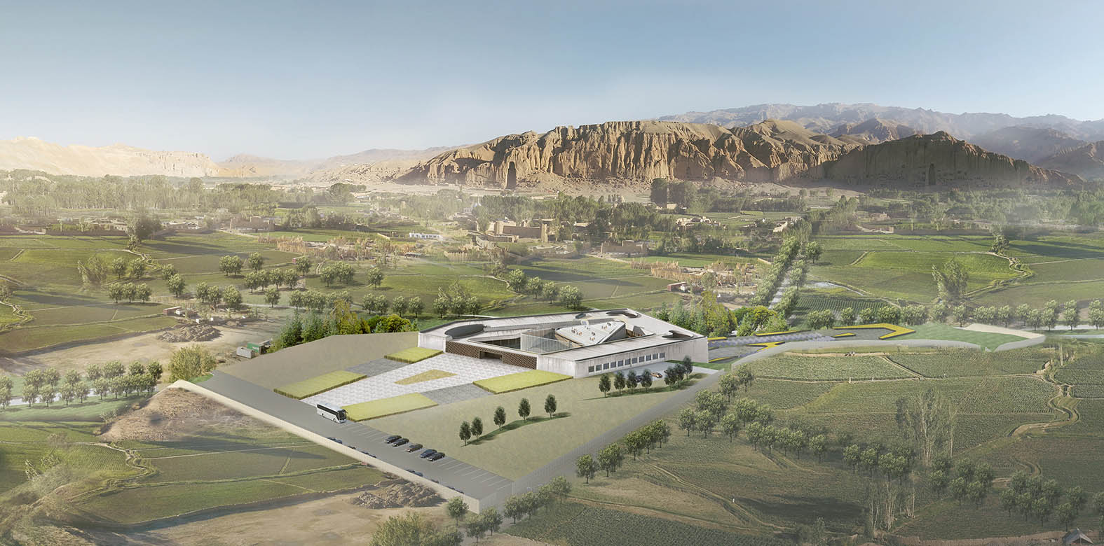 Bamiyan Cultural Center In Afghanistan
